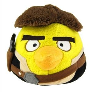 """Angry Birds Star Wars 16"""" Deluxe Plush: Han Solo"""